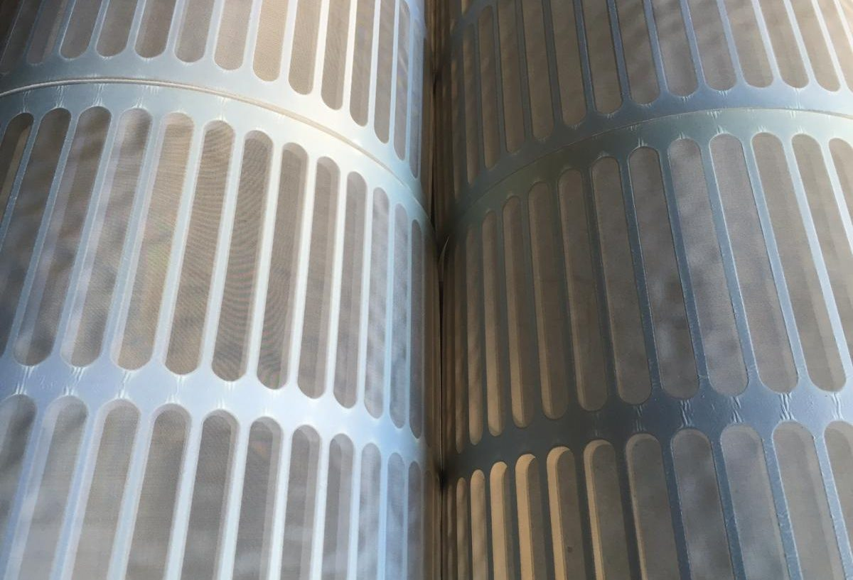 Hoe filterpanelen in een trommelfilter te plaatsen