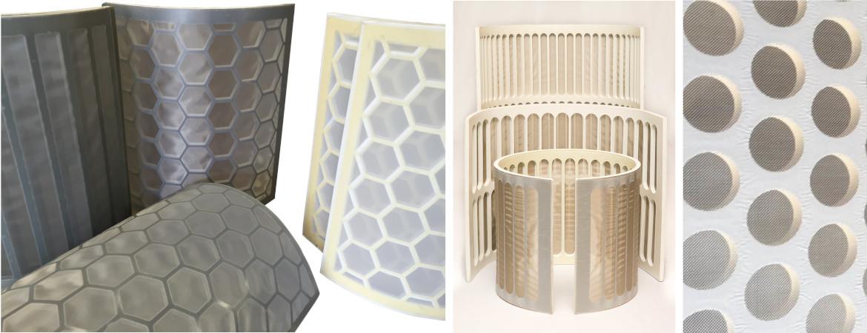 Diverse soorten filter panelen